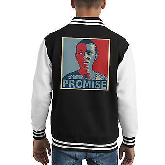 Fremde Dinge elf echte Freunde Dont Lie Kid Varsity Jacket