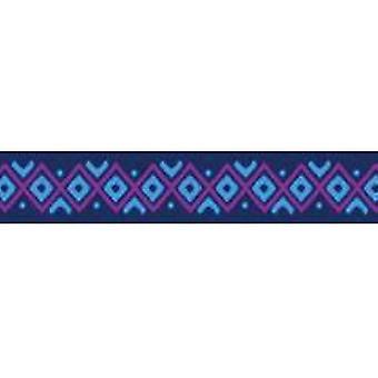 Tuff Lock Kragen kleine Inka blau