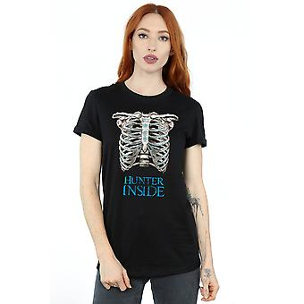 Supernatural Women's Hunter Inside Boyfriend Fit T-Shirt