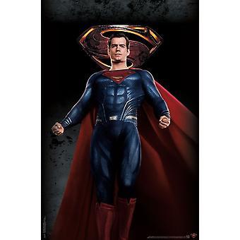 Liga de la justicia - Superman Poster Print