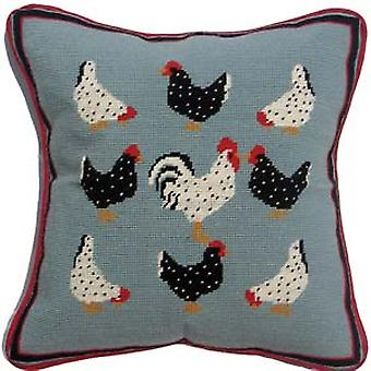 Speckled Hens Needlepoint Canvas