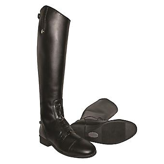 Mark Todd Adults Toddy Tall Leather Synthetic Field Boots