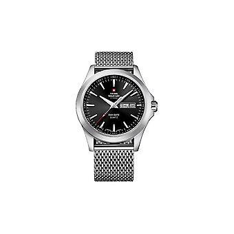 Militar suizo reloj relojes de cuarzo SMP36040. 01