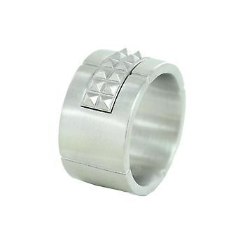 ESPRIT mäns ring rostfritt stål med stenar Gr. 19 ESRG11334A190