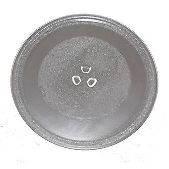 Universal Microwave Turntable Glass 255mm Fits Panasonic Universal