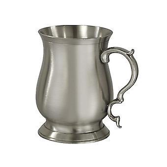 Abbey Bell Pewter Heavy Tankard 1/2 Pint