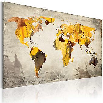 Vászon Print-Sunny kontinens