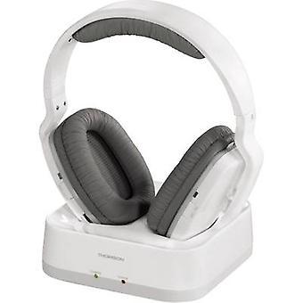 Thomson WHP3311W Bezprzewodowy (1075099) Nauszna regulacja głośności Biały