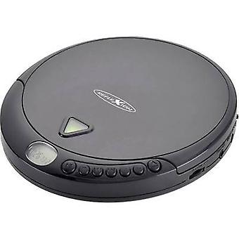 Reflexion PCD500MP CD przenośny odtwarzacz CD, CD-R, CD-RW, MP3 czarny