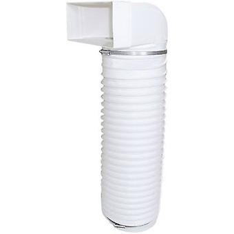 Wallair N15896 Sistema de ventilación de canal plano 125 mm Pliegue con manguera