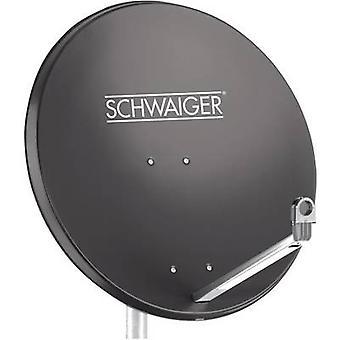 Schwaiger SPI998.1 SAT antenna 75 cm Reflective material: Aluminium Anthracite