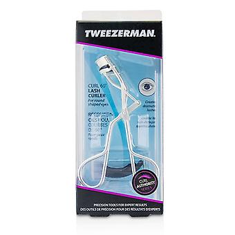 Tweezerman Curl 60° Lash Curler (for Round Shaped Eyes) - -