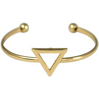 Gemshine armband Bangle guld design triangel Scandi minimalistisk design