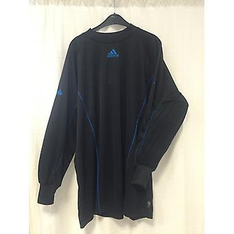 Adidas goalie Jersey black/blue mens 164840