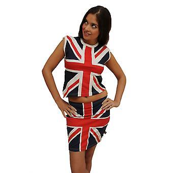 Union Jack Women's Vest