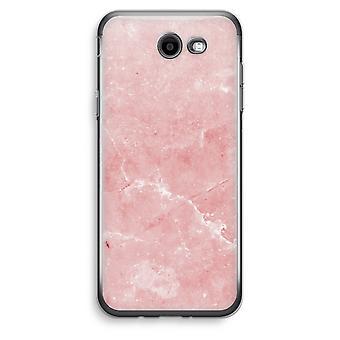 Samsung Galaxy J3 Prime (2017) przezroczysty (Soft) - różowego marmuru