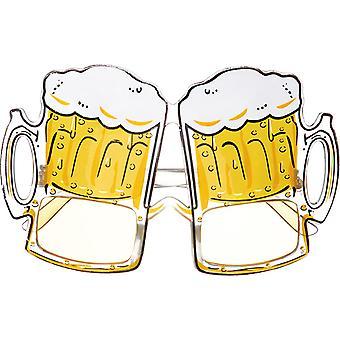 Bier glazen bier mok Oktoberfest accessoire carnaval Halloween