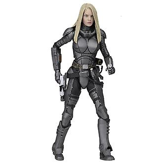 Valerian and the City of 1000 Planets Actionfigur Laureline Material: Kunststoff,  Hersteller: NECA.