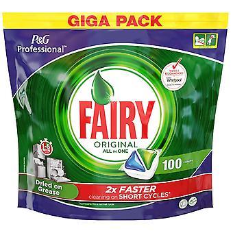 FAIRY originele All In een vaatwasser 100 tabletten (1 Pack)
