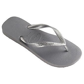 Womens Havaianas Top Tiras Rubber Holiday Lightweight Sandals Flip Flops