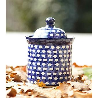 Dose, Volumen 600 ml, Höhe 15 cm, Tradition 4- polish pottery - BSN 10723