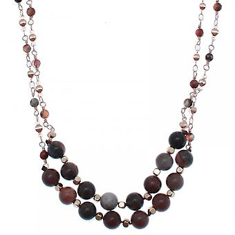 Bcharmd Annetta Beaded Long Necklace