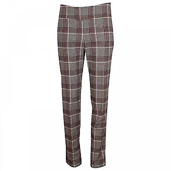 Up! Pull On Checked Trousers
