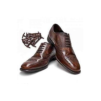 Brown Easy No Tie Smart Shoes Laces
