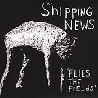 Shipping News - Flies the Fields [CD] USA import