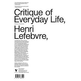 Kritik des Alltagslebens von Henri Lefebvre - 9781781683170 Buch