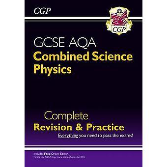 Ny karakter 9-1 GCSE kombinert Science - fysikk AQA fullstendig revisjon &