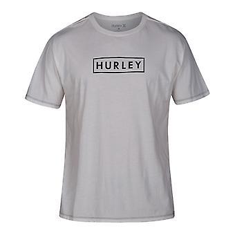 Hurley Lightweight boxed kortärmad T-shirt i segel
