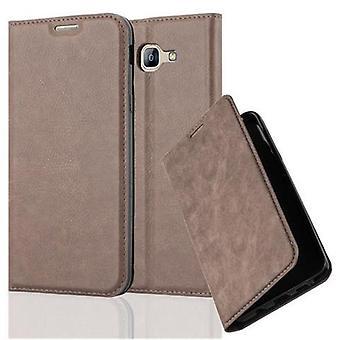 Cadorabo Case voor Samsung Galaxy A8 2016 Case cover-telefoon geval met magnetische sluiting, stand functie en kaart Case compartiment-Case cover geval geval geval zaak geval boek vouwen stijl