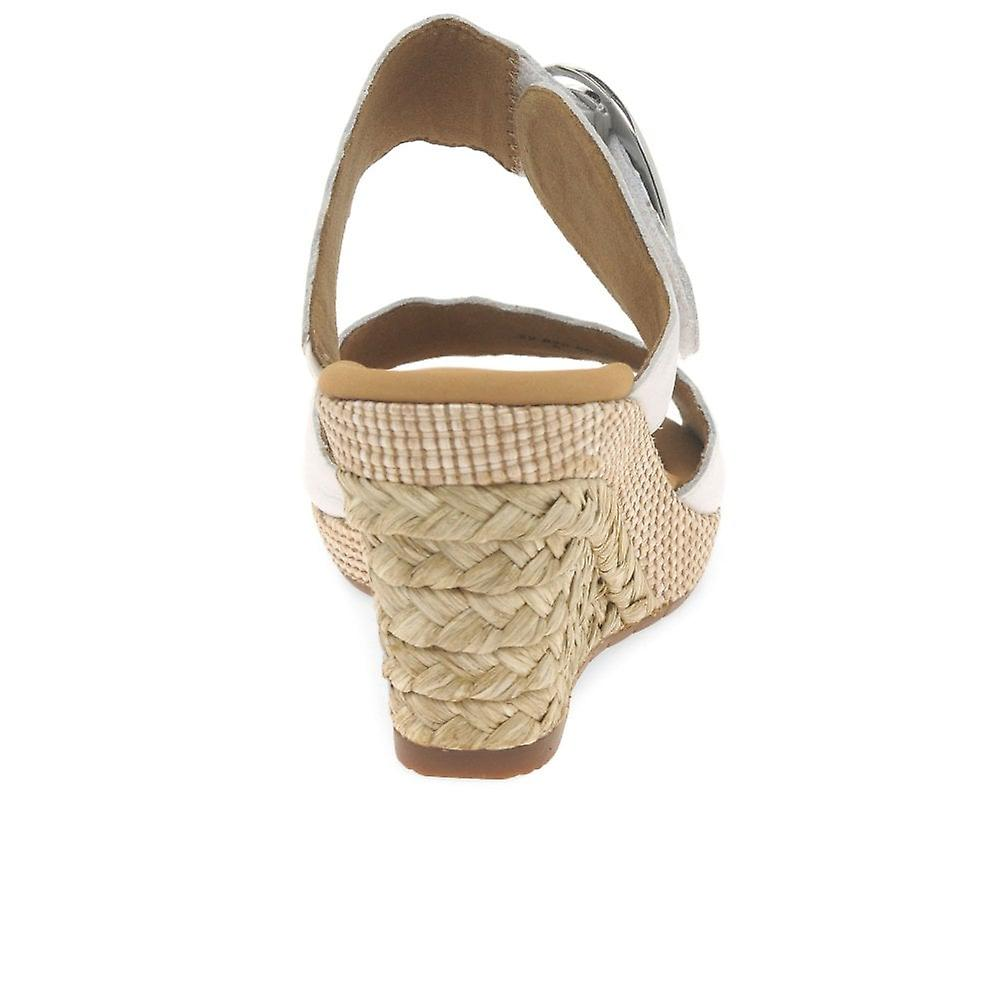 Gabor Kent Womens Wedge Heel Sandals