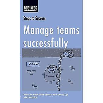 Hallita joukkuetta menestyksekkäästi: Miten työskennellä muiden kanssa ja keksisi (vaiheet menestykseen)