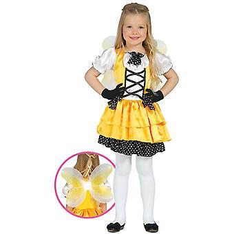 Girls Butterfly Fancy Dress Costume