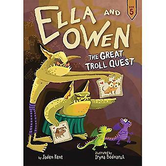 Ella et Owen 5: le grand Troll Quest (Ella et Owen)
