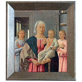 With Ram Senigallia Madonna, Piero della Francesca, 61x51cm
