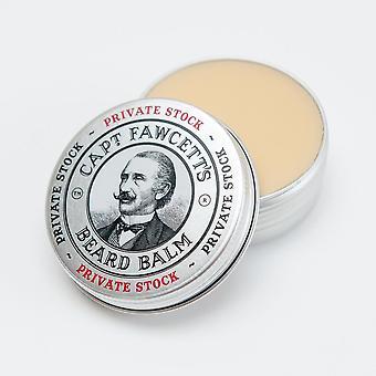 Captain Fawcett Beard Balm - Private Stock