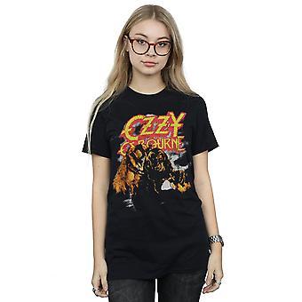Zzy Osbourne ženy ' s ročník vlkodlak přítel fit tričko