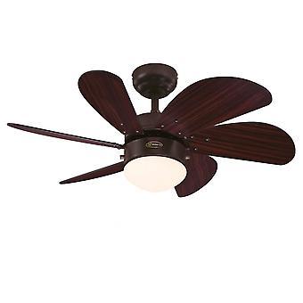 Ceiling fan Turbo Swirl Espresso 76cm / 30