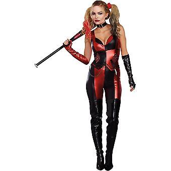 Harlequin Blaster volwassen kostuum
