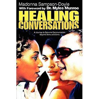 スキンと SampsonDoyle ・ マドンナでにやにや笑いを超えて本物通信する癒しの ConversationsA の旅