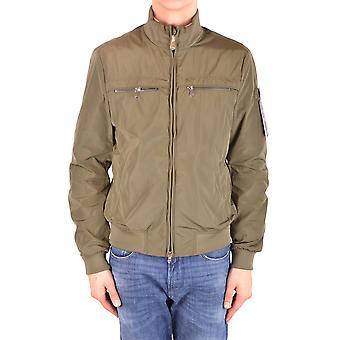 Peuterey Ezbc017081 Men's Green Polyester Outerwear Jacket