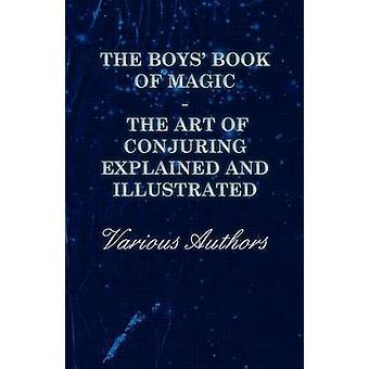 Pojkar boken Magins konst besvärjer förklaras och illustreras av olika