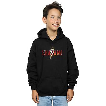 DC Comics Boys Shazam Movie Logo Hoodie