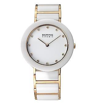 Bering damer se armbåndsur slanke keramiske - 11435-751 rustfritt stål