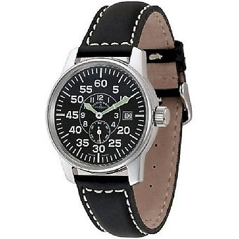 Zeno-watch mens watch of classic observer automatic 6595-6OB-a1