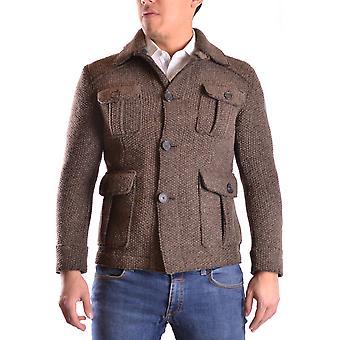 L.b.m. Ezbc215001 Men's Brown Wool Blazer