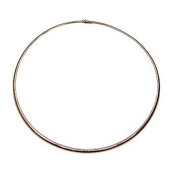 Gold Hook Omega Necklace